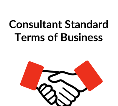 Consultant Standard Terms of Business Contract Template