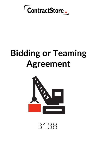 Bidding Agreement/Teaming Agreement