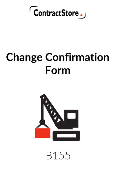 Change Confirmation Form