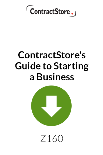 ContractStore's Guide to Starting a Business – Free Document